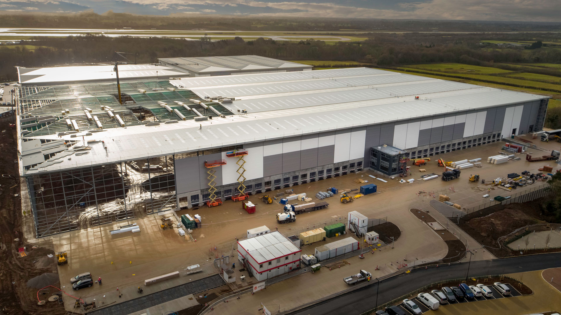 West Siphonics Systems England Scotland Siphonic Roof Drainage Specialists Design Manufacture Installation Project Management ICON 2 Manchester Airport 2 Project Gallery