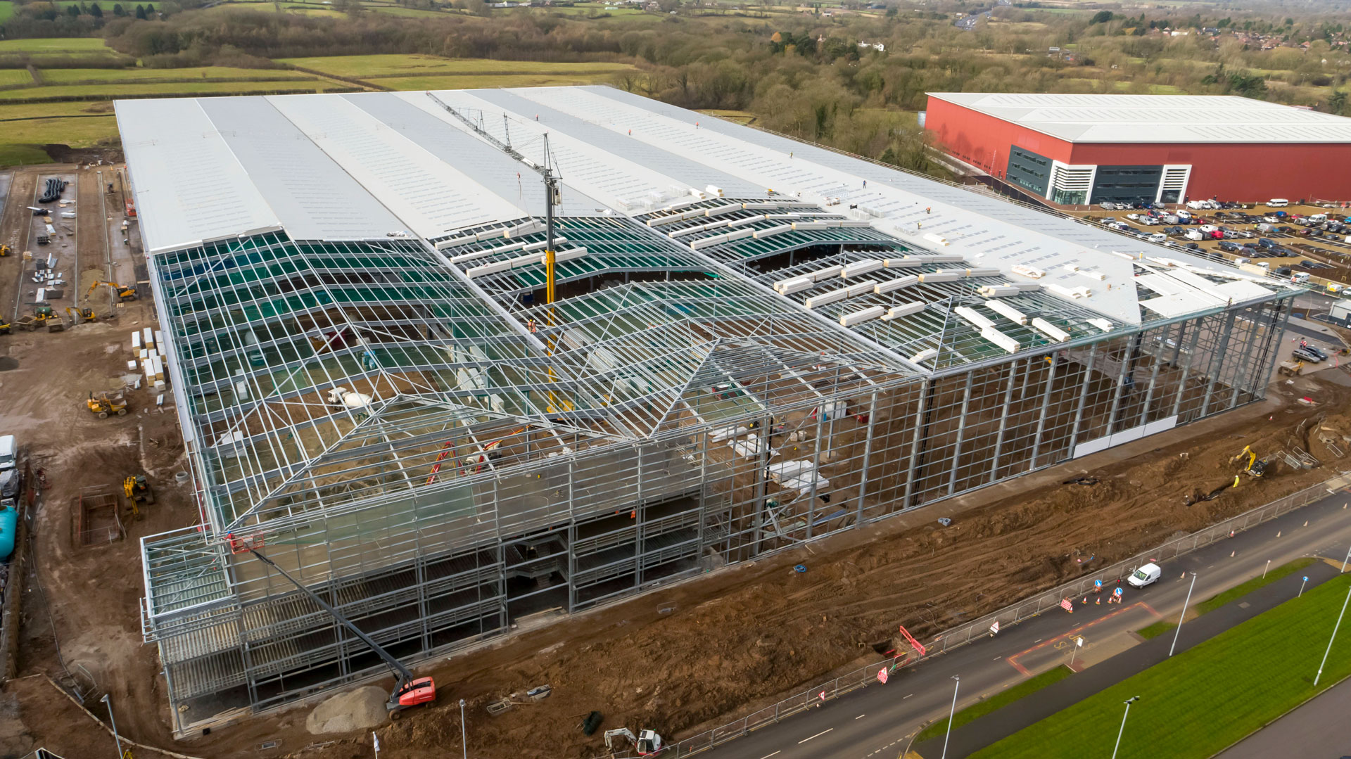 West Siphonics Systems England Scotland Siphonic Roof Drainage Specialists Design Manufacture Installation Project Management ICON 2 Manchester Airport