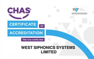 West Siphonics Systems England Scotland Siphonic Roof Drainage Specialists Design Manufacture Installation Project Management V&A Museum Dundee 2 CHAS Certificate of Accreditation